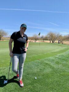 Sarrah Bridge Golfing